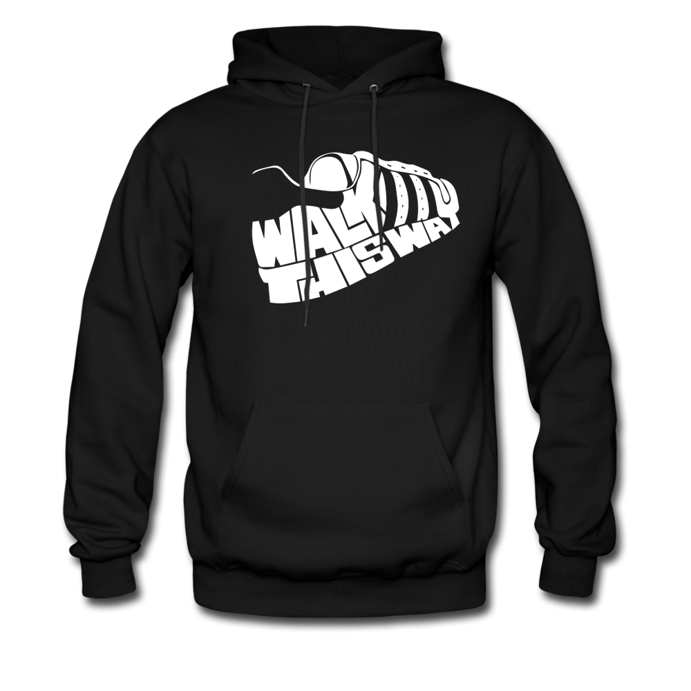 Walk This Way Hoodie - black