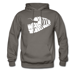 Walk This Way Hoodie - asphalt gray