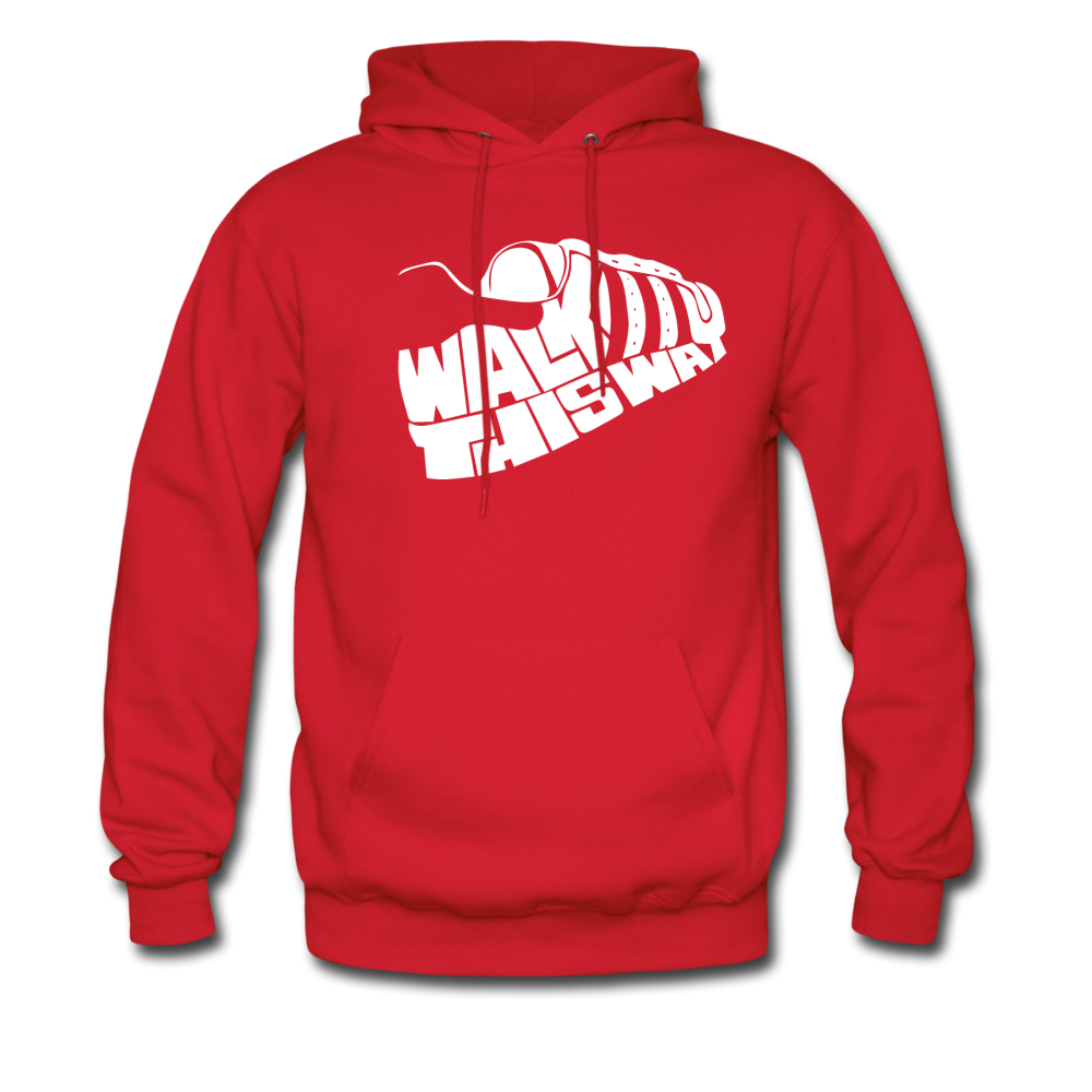 Walk This Way Hoodie - red