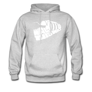 Walk This Way Hoodie - ash