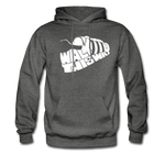 Walk This Way Hoodie - charcoal gray