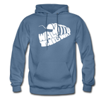 Walk This Way Hoodie - denim blue