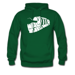 Walk This Way Hoodie - forest green