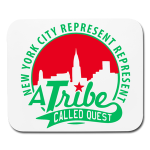 A Tribe Called Quest Mouse pad Horizontal - white