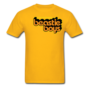 Beastie boys T-Shirt - gold