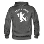 Bust A Move Hoodie - charcoal gray