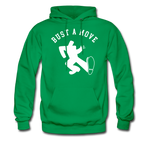 Bust A Move Hoodie - kelly green
