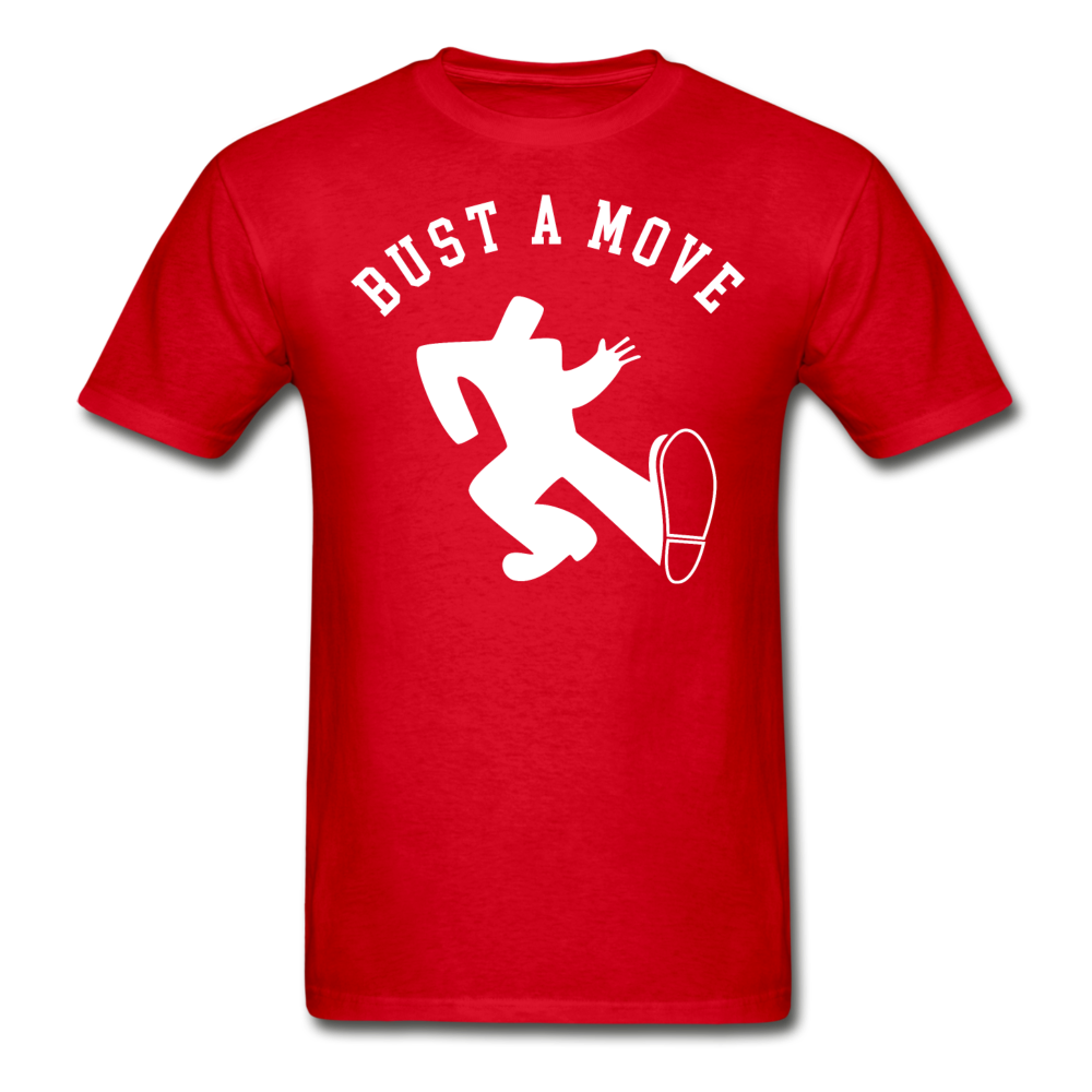 Bust A Move T-Shirt - red