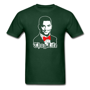 Thug Life T-Shirt - forest green