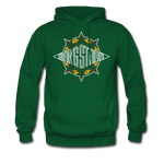 Gang Starr Hoodie - forest green