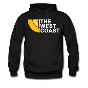The West Coast Hoodie - black