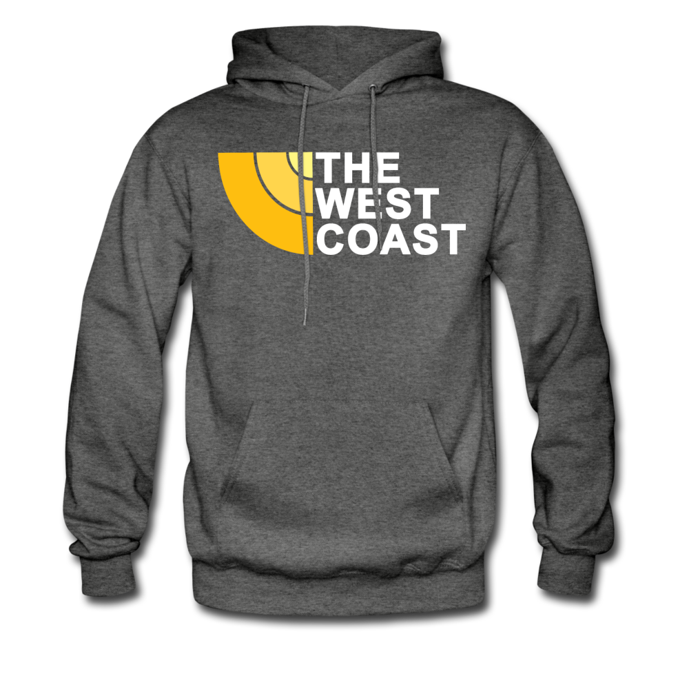 The West Coast Hoodie - charcoal gray
