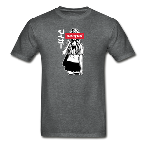 Senpai T-Shirt - deep heather