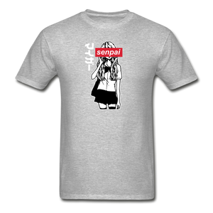 Senpai T-Shirt - heather gray