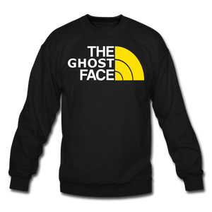 The Ghost Face Crewneck Sweatshirt - black