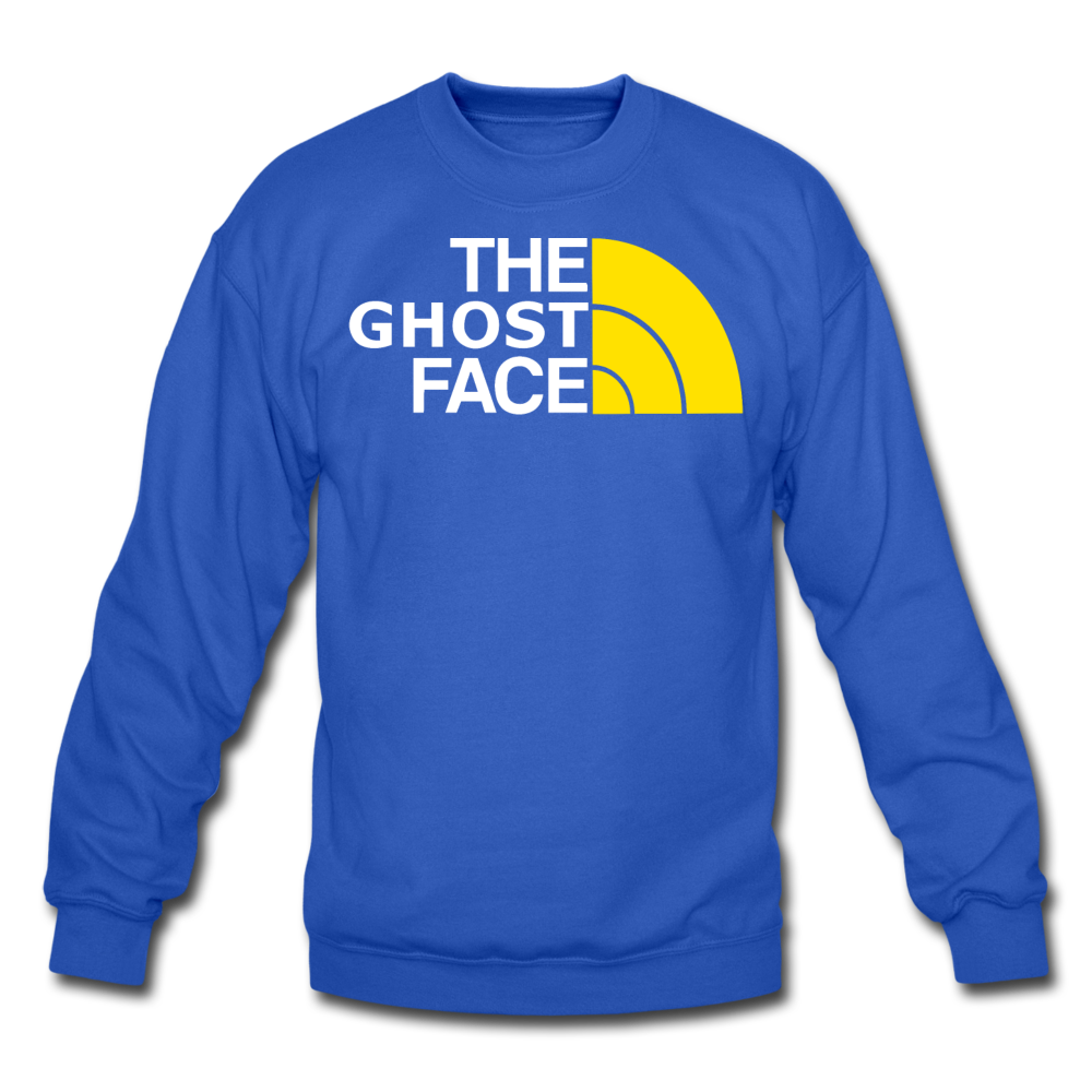The Ghost Face Crewneck Sweatshirt - royal blue