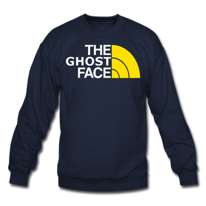 The Ghost Face Crewneck Sweatshirt - navy
