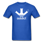 Addict T-Shirt - royal blue