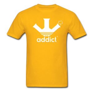Addict T-Shirt - gold