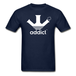 Addict T-Shirt - navy