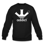 Addict Crewneck Sweatshirt - black
