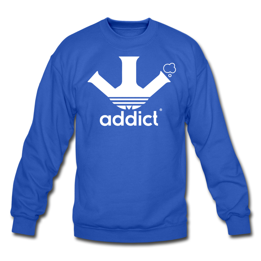 Addict Crewneck Sweatshirt - royal blue
