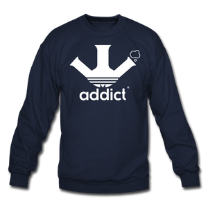 Addict Crewneck Sweatshirt - navy