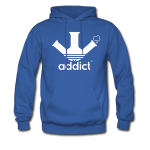 Addict Hoodie - royal blue