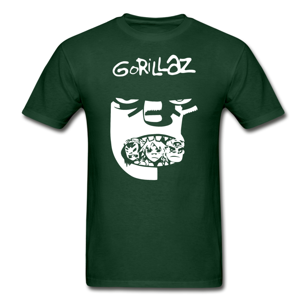 Gorillaz T-Shirt - forest green