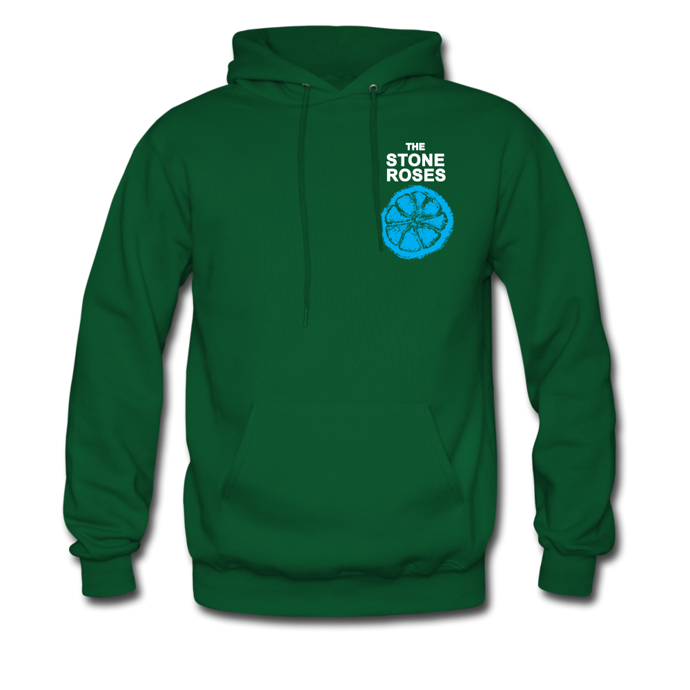 The Stone Roses Hoodie - forest green