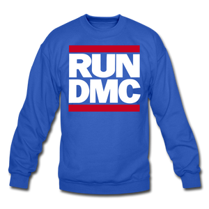RUN DMC Crewneck Sweatshirt - royal blue
