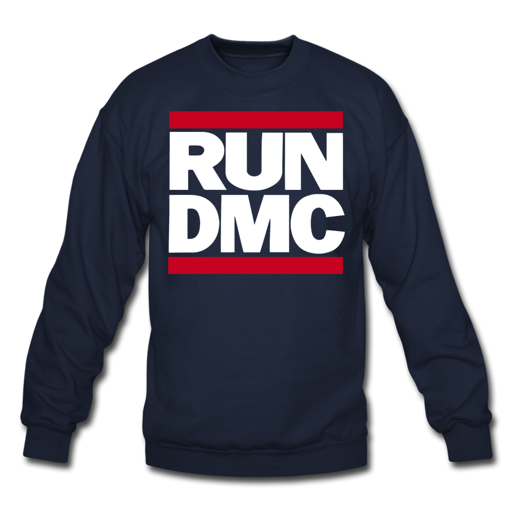 RUN DMC Crewneck Sweatshirt - navy