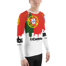 Load image into Gallery viewer, Men's Rash Guard Portugal Power