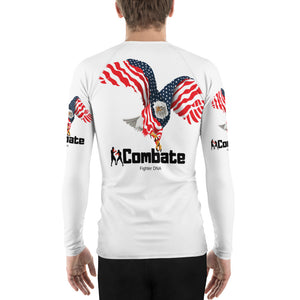 Men's Rash Guard Bald Eagle