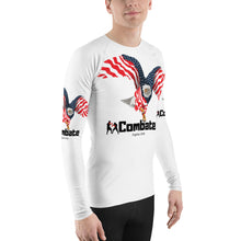 Load image into Gallery viewer, Men's Rash Guard Bald Eagle