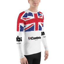 Load image into Gallery viewer, Men's Rash Guard UK Power