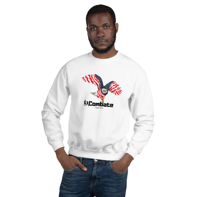 Men's Sweatshirt Bald Eagle