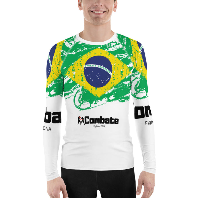Men's Rash Guard Brazil Power