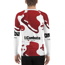 Load image into Gallery viewer, Men's Rash Guard Bloody Cage