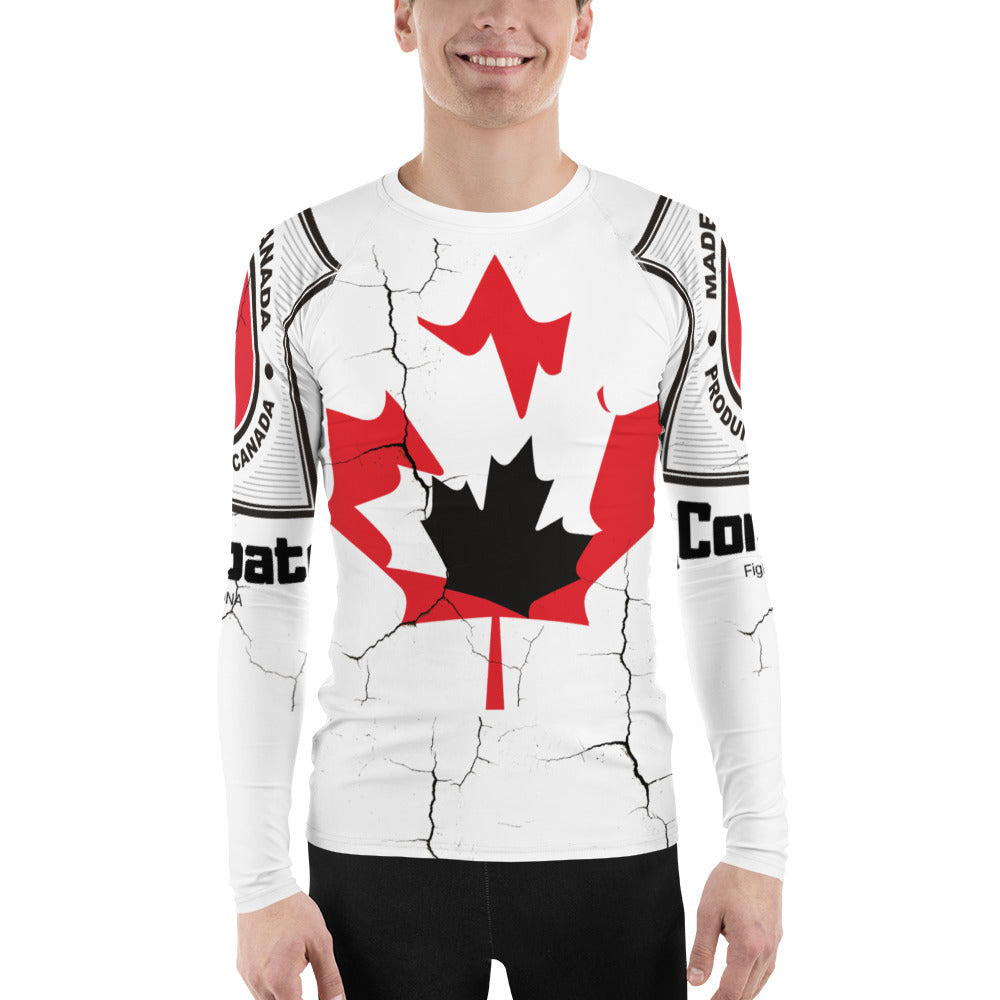 Canadian Cracked Rash Guard