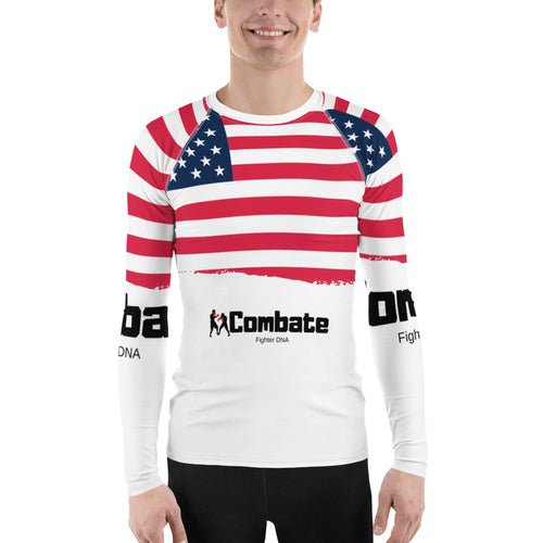 Men's Rash Guard USA Power