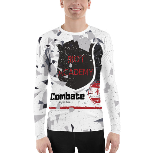 Men's Rash Guard Riot Academy
