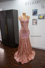 Charger l'image dans la galerie, Blush Sequin Dress