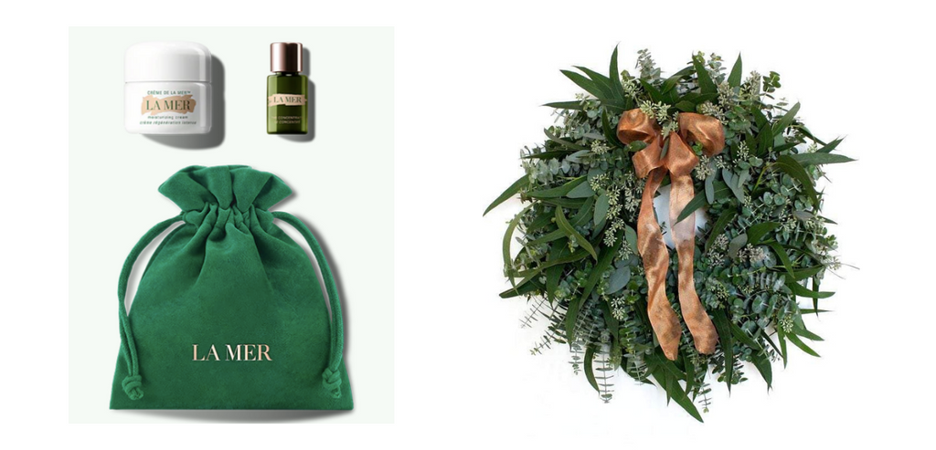 La Mer Hero's Set and Home for the Holiday's Wreath