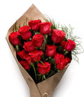 1 Dozen Red Rose Bundle