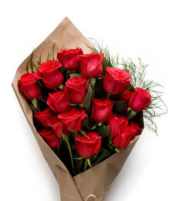 18 Stems Red Rose Bundle