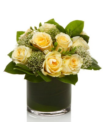 Lush Yellow Rose Arrangement - H.Bloom