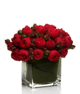 Luxury Red Rose Arrangement  - H.Bloom