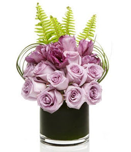 Luxury Lavender Rose Floral Arrangement  - H.Bloom
