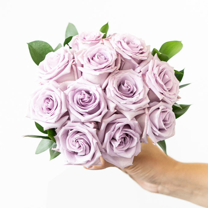 Luxurious Lavender Rose Bouquet - H.Bloom